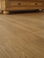 Oak floor finished with 1 x COLORWASH Smoked Oak + 2 x DUO.